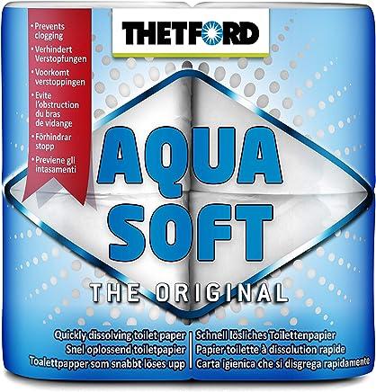 Thetford 30010 20127 Aqua Soft, 4 rollos, White