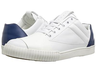 MARNI Color Block Sneaker (White/Cobalt) Men