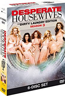 Desperate Housewives : The Complete Third Season - The Dirty Laundry Edition | DVD | Arabic Subtitle Included | Rare Rotan...