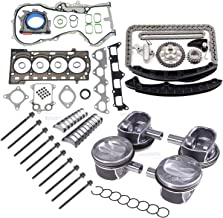 Amzparts Engine Pistons Gaskets Timing Overhaul Rebuild Kit For VW AUDI 1.4 TSI CAVD CTHD 03C107065BF