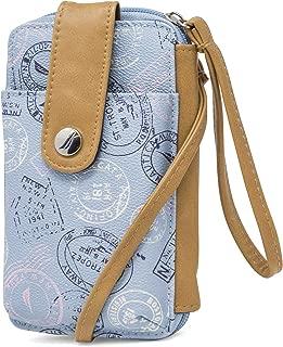 Nautica Caroline Vegan Leather RFID Womens Crossbody Phone Bag Wallet