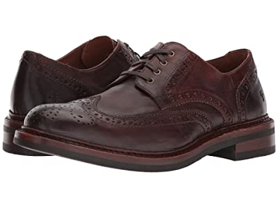 Frye Graham Wingtip (Cognac Pull Up Leather) Men