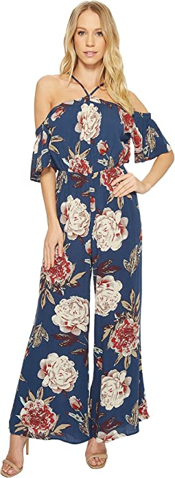 American Rose - Lily High Neck Off the Shoulder Jumper