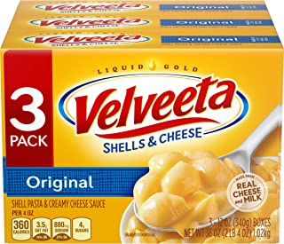 Velveeta Original Shells & Cheese, 3 ct - 36.0 oz Package