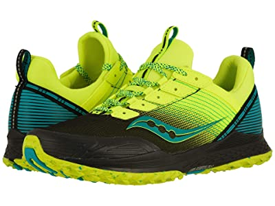 Saucony Mad River TR (Citron/Black) Men