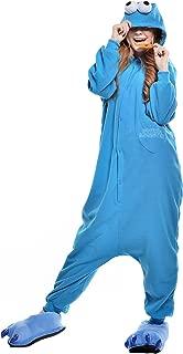 EWCOSPLAY Halloween Unisex Adult Blue Street Pajamas Costume Cosplay (L, Blue Street)