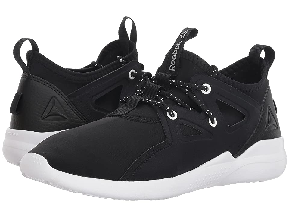 Reebok Cardio Motion (Black/White/Silver Metallic) Women