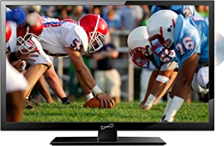 """Supersonic SC-2412 24"""" Widescreen LED HDTV with Built-In DVD Player"""