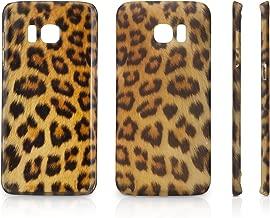 Samsung Galaxy S7 Edge Case, BoxWave [Fierce Case] Fashionable Animal Print Protective Shell Case Samsung Galaxy S7 Edge - Leopard