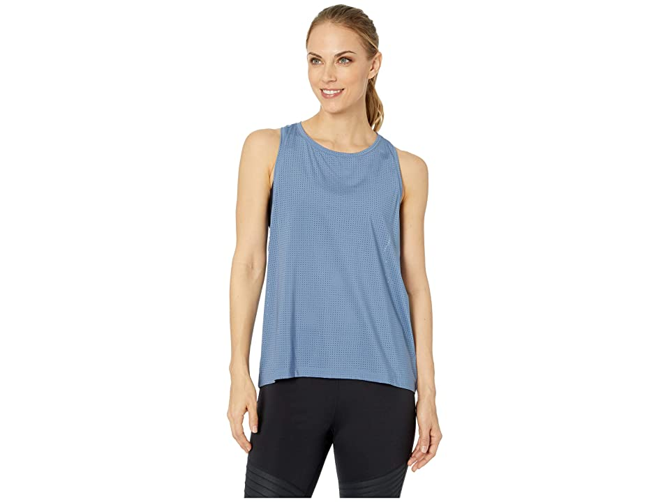 Reebok Perforated Tank (Blue Slate) Women