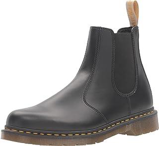 حذاء Dr. Martens رجالي مصنوع من مادة نباتية 2976 تشيلسي, (بلاك فيليكس فرك اوف), 39 EU