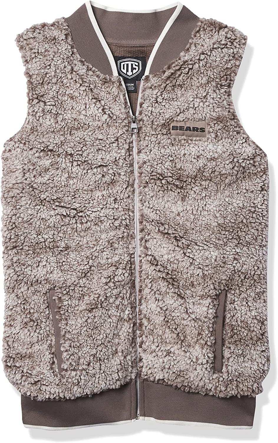 NFL Women's OTS Sales results No. 1 Vest Sherpa OFFicial mail order