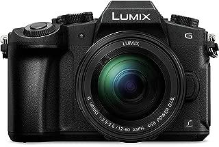 松下 DMC-G80EB-K 紧凑系统摄像头DMC-G80MEB-K 12-60 毫米镜片 黑色