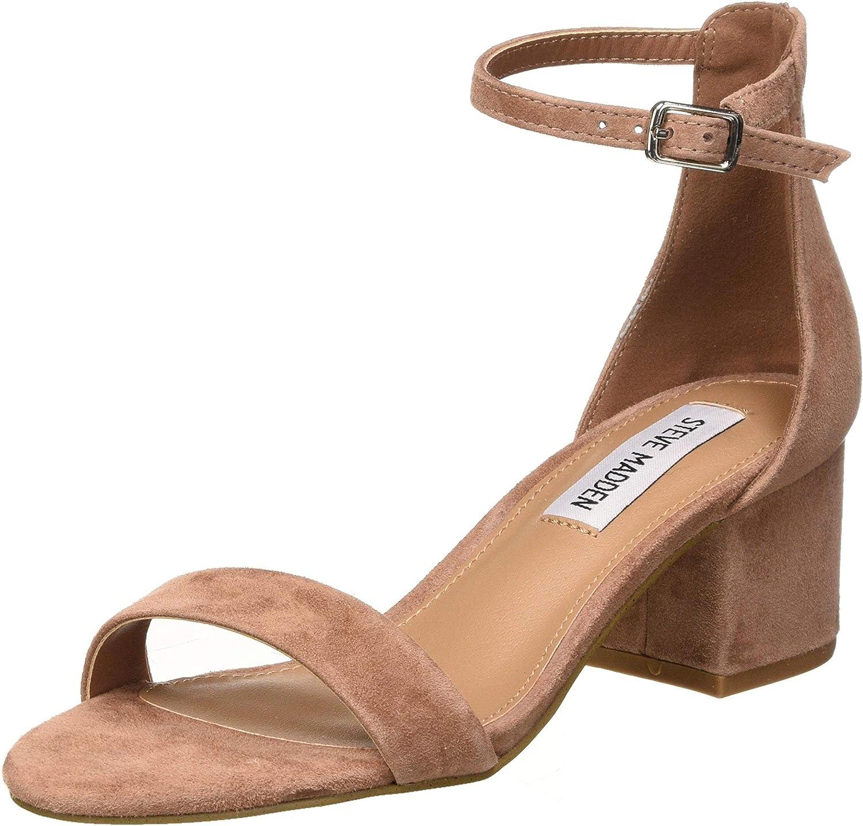 Steve Madden Women's Ankle Strap Heeled Sandal
