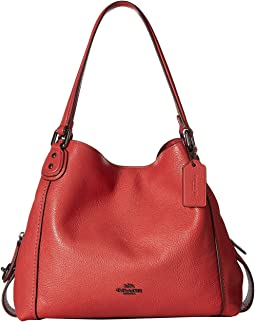 COACH Pebbled Leather Edie 31 Shoulder Bag