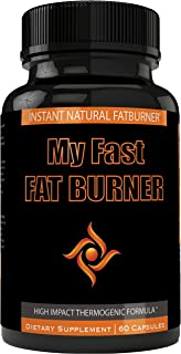 My Fast Fat Burner | My Fast Burner Quemador de Grasa Supplement Capsules for Women and Men | It's Possible to Loose Weight Fast (60 Count)
