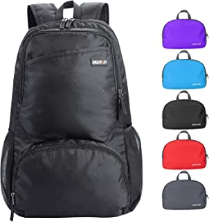 EASYFUN Travel Lightweight Hiking Backpack Foldable Camping Outdoor Day Pack Packable Backpacks Small Daypack for Men and Women