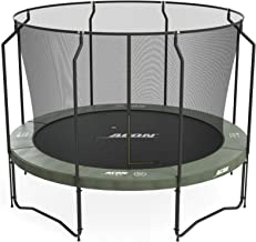 Acon Air 3.7 Trampoline 12ft with Premium Enclosure | Includes 12ft Round Trampoline and Premium Safety Net | 80 Heavy Duty 8.5in Springs