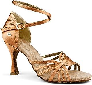 PortDance PD137 Premium - Scarpe da danza da donna, colore: Tan, 6 cm