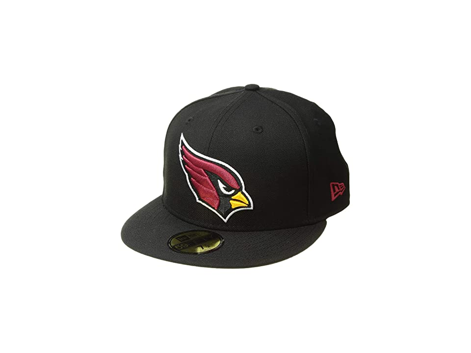 New Era 59FIFTY Arizona Cardinals (Black) Baseball Caps