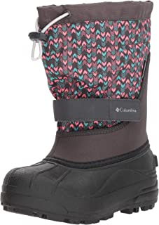 Columbia Kids' Youth Powderbug Plus Ii Print Snow Boot