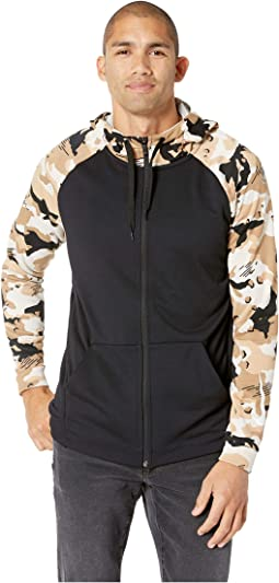 Dry Hoodie Full Zip Fleece 2L Camo
