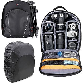 Tongshi Mochila 1PC bolso de la cámara réflex digital Caso ...