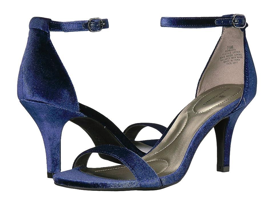 Bandolino Madia (Navy Velvet) High Heels