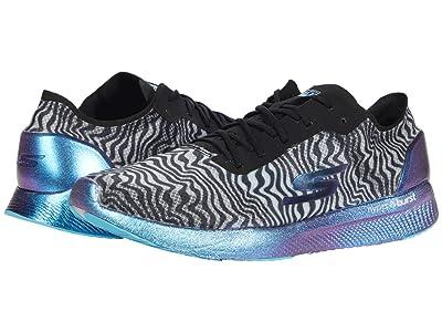 SKECHERS Go Meb Speed 6 Cloak (Black/Blue) Women