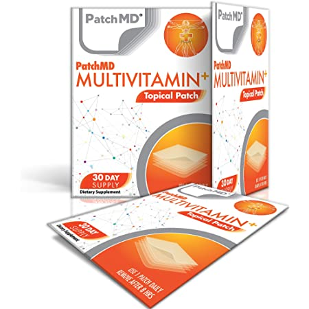 PatchMD - Multivitamin Plus, 30 Topical Patches