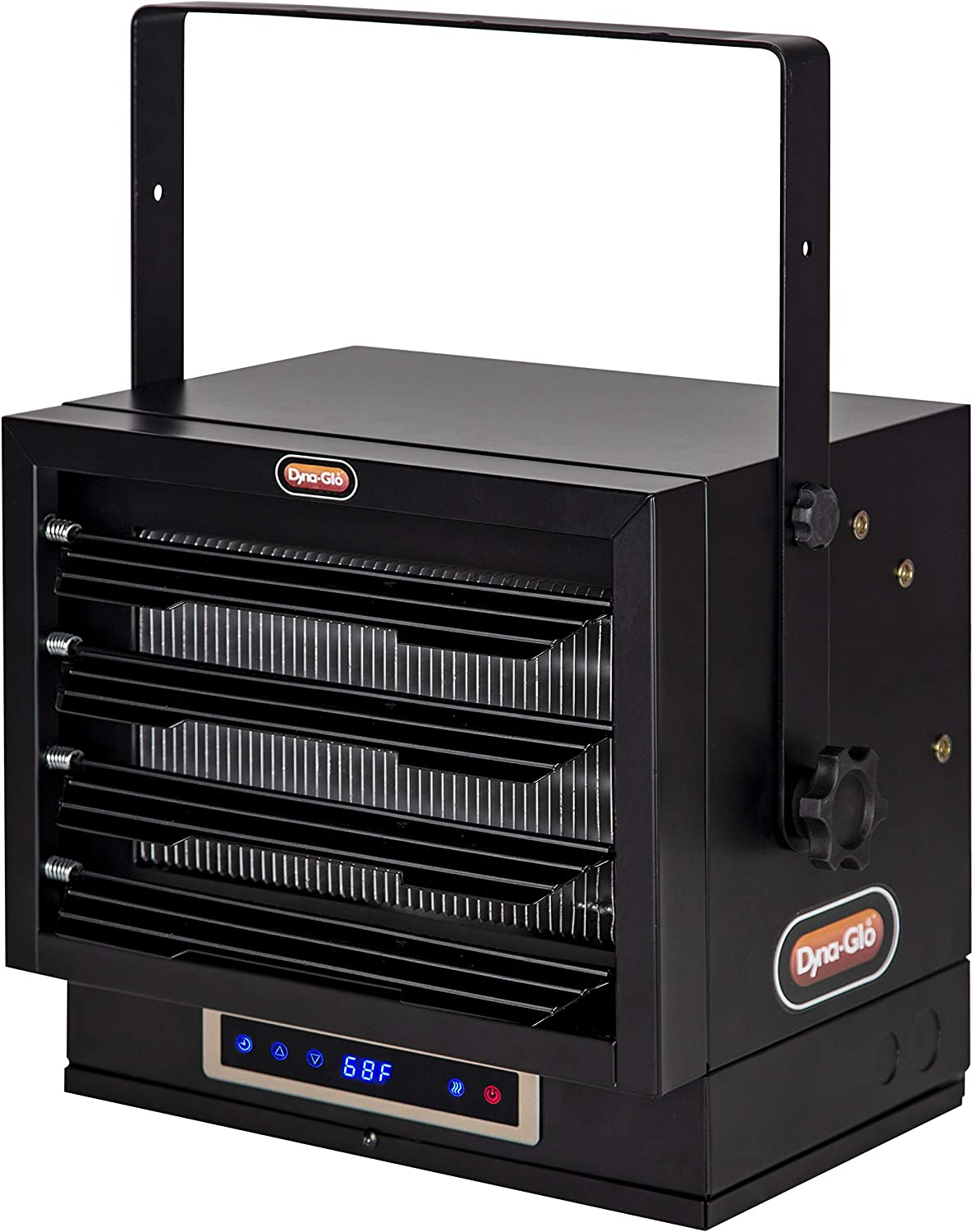 Dyna-Glo Fixed price for sale EG7500DH Dual Heat 7500W depot Heater Black Garage Electric