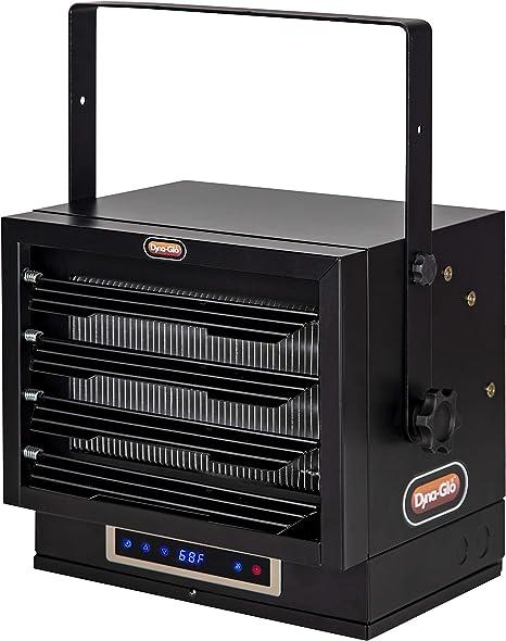 Dyna-Glo EG7500DH Dual Heat 7500W Electric Garage Heater, Black: image
