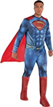 Costumes USA Justice League Part 1 Superman Muscle Costume for Adults, Standard Size, Includes a Padded Jumpsuit