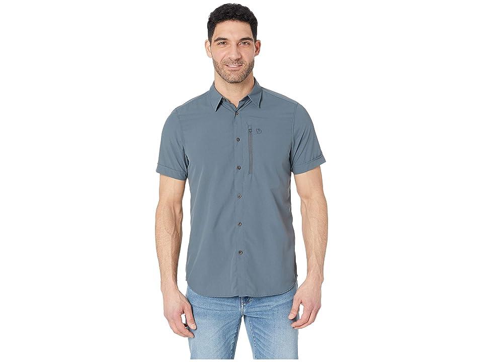 Fjallraven Abisko Hike Shirt Short Sleeve (Dusk) Men