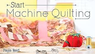 Start Machine Quilting