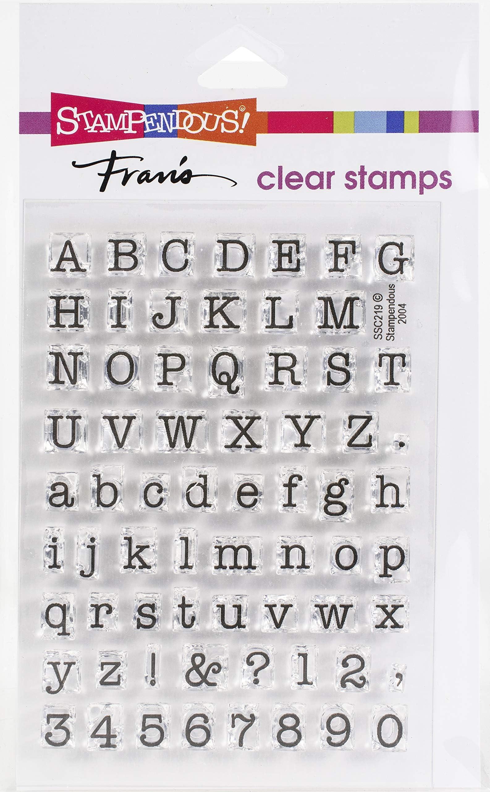 Buy 2 get 1 free-88pcs alphabet letter stamp number letter stamp journal stam silicone stamp DIY crafts clear transperent letter stamp