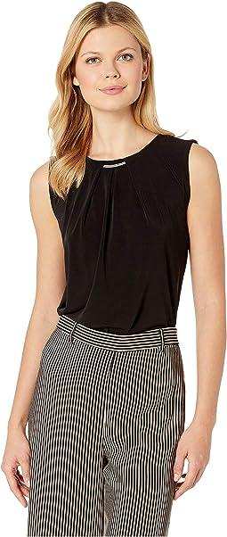 6bdc75a9cbb8fb Calvin Klein. Sleeveless Knit Pullover. $17.99MSRP: $69.00. Black