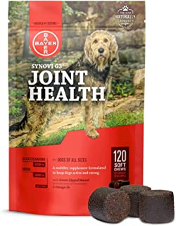 Bayer Animal Health DVM Resources SynoviG3 Soft Chews, 240 C