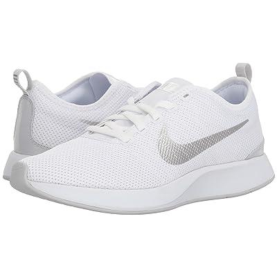 Nike Dualtone Racer (White/Pure Platinum) Women