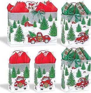 Christmas Holiday Gift Bag Assortment (Vintage Tree Farm)