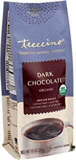 Sponsored Ad - Teeccino Prebiotic SuperBoost Coffee Alternative – Dark Chocolate – Support Probiotics with Caffeine-Free H...