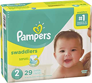 Pampers Pampers Swaddlers Diapers Size 2, 29 ct