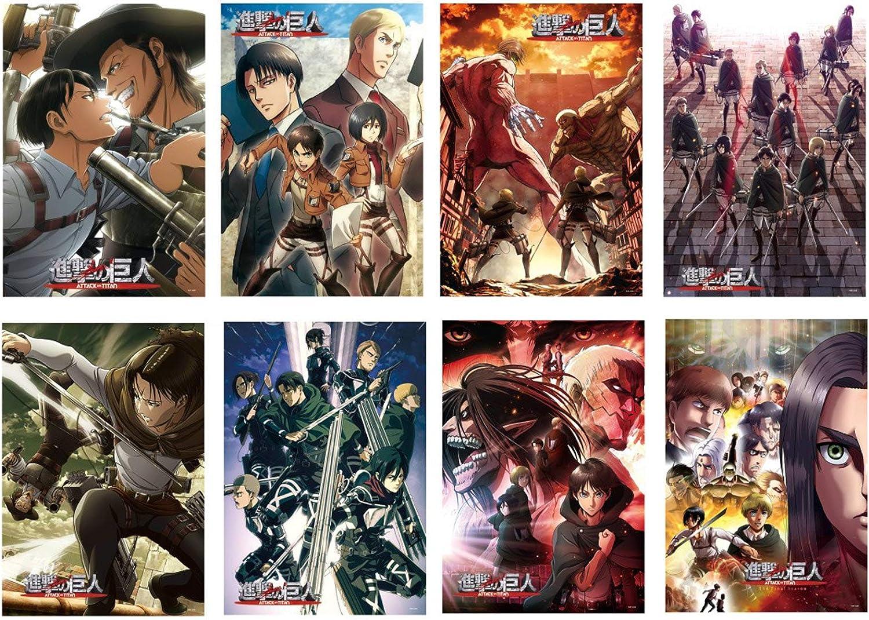 Gintama Posters 29 2 X 41 9 Cm Póster De Anime Japonés Para Decoración De Pared Del Hogar Juego De 8 Unidades Decoración Del Hogar Chadamantra Tapices