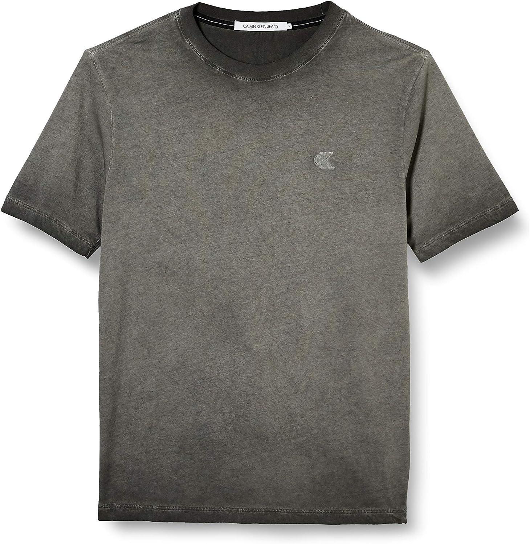Calvin Klein Cold Dye Elongated tee Camiseta para Hombre
