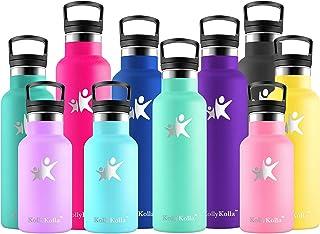 Yoga Ninacc Botella de Agua Acero Inoxidable T/érmica Verano 600ml Ligera y Resistente Trekking y Ni/ños Gimnasio Ciclismo Botella de Fr/ío//Caliente sin bpa Botella Reutilizable Sport