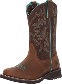 ARIAT Delilah Western Boots - Women's Mid-Calf Leather Boot