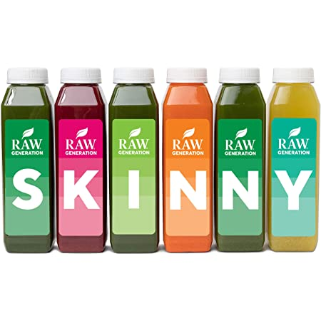 5-Day Skinny Cleanse by Raw Generation® - Best Juice Cleanse to Look and Feel Lighter Quickly / Healthiest Way to Cleanse Your System / Jumpstart a Healthier Diet
