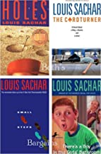 4 Books: Louis Sachar Set Series - Holes, The Cardturner, Small Steps, There is a Boy in the Girl's Bathroom (Louis Sachar...