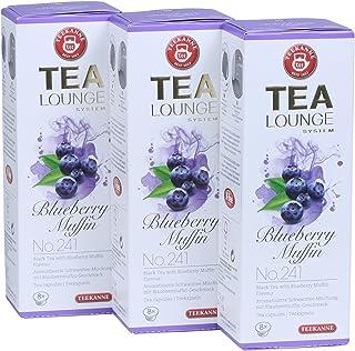 Teekanne Tealounge Kapseln - Blueberry Muffin No. 241 Schwarzer Tee 3x8 Kapseln