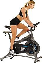دراجة هوائية للأماكن المغلقة من شركة ساني هيلث آند فيتنس للكبار من الجنسين 5100 أسونا - أسود/فضي، مقاس واحد